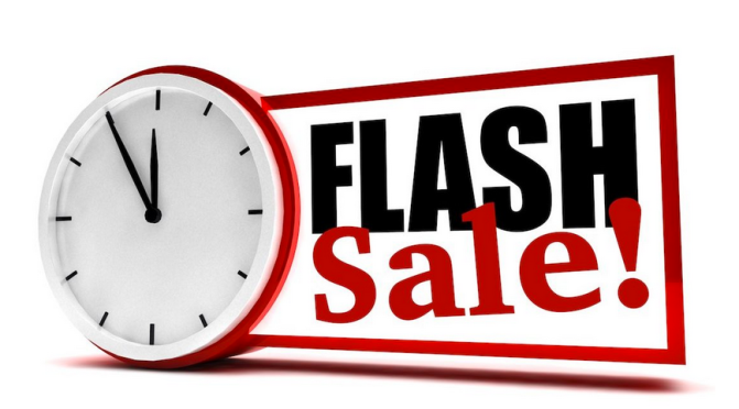 Flash Sale Coming Soon!