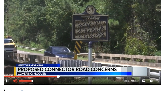 CBS 42 News Brings Attention to Brock's Gap Concerns
